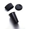 สีดำ500ml (ฝา + ถ้วยแขน)