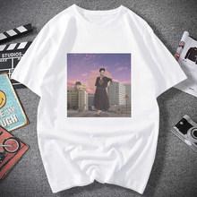 God soft girl Эстетическая одежда с аниме летняя одежда для женщин Хиппи белый топ летний топ уличная одежда женская летняя одежда(China)