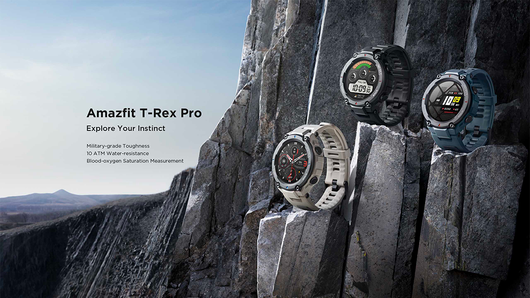 Global Version Amazfit T-rex Trex Pro T Rex Gps Outdoor Smartwatch Waterproof 18-day Battery Life 390mah Smart Watch - Buy Amazfit T-rex Pro,Amazfit Trex Pro Sport,Amazfit T Rex 2 Watch Product on