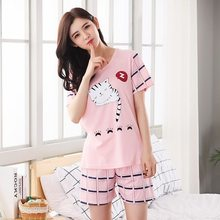 Бархатный пижамный комплект для женщин, теплая пижама с длинными рукавами и штаны, 2 шт./компл., домашняя пижама для мам(Китай)
