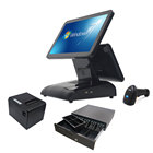 System Pos Systems 15'' Hot Sale Supermarket Touch Retail Pos System