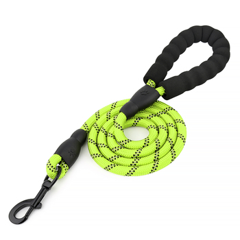 Strong Large Reflective Nylon Braided Climbing Rope Dog Leash