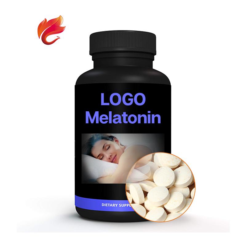 OEM 1000 мг, порошок экстракта спящего мелатонина, жевательные таблетки в таблетках