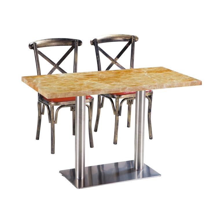 Новейший профессиональный современный классический обеденный стол и стулья по индивидуальному заказу от производителя
