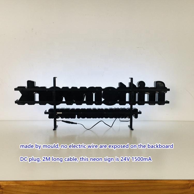 Акриловая индивидуальная фирменная подставка Satom с логотипом аниме, неоновая светодиодная вывеска на заказ