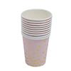 10pcs כוסות נייר 9 oz