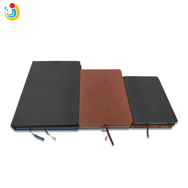 A4 A5 A6 pu leather planner custom diary notebook organizer journal with logo printing