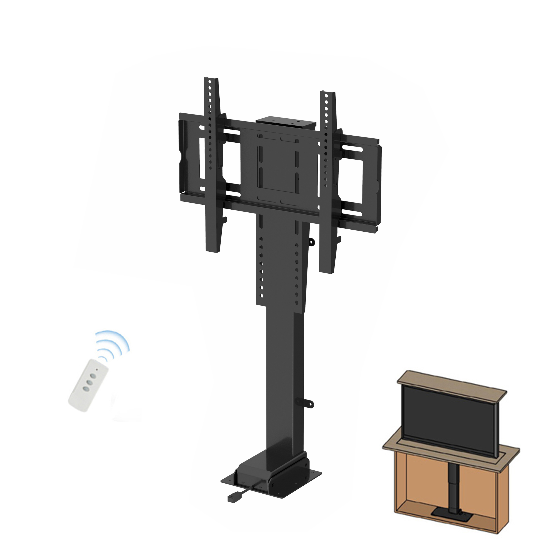 Регулируемый по высоте пульт дистанционного управления моторизованная телевизионная система подъема стенд выпадающий механизм подъема телевизора