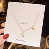 057 Gold necklaces