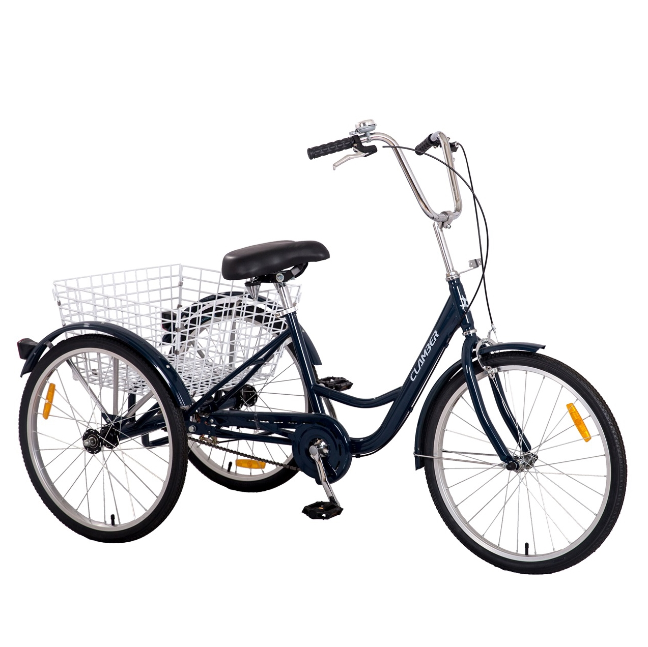 2021 adult trike tricycle 3 wheels with basket
