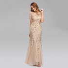 Gown Western Gowns Party Dresses Wholesale Elegant Long Ball Gown Ivory Party Maxi Birthday Outfit Women Evening Dress