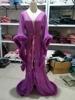 Purple Long robe