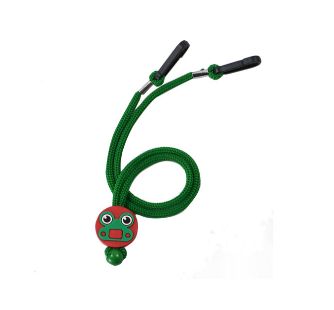 Cute Cartoon Pattern Glasses Rope Student Children Solid Color Nylon Facemask Anti-lost Lanyard