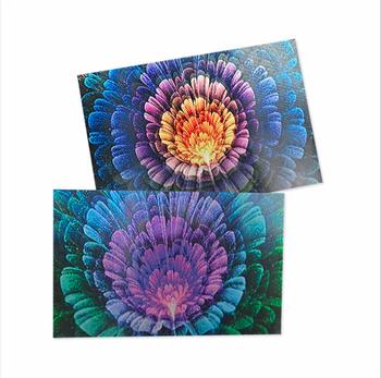Gift Custom design New Printing Merry Christmas 3d lenticular postcards post cards