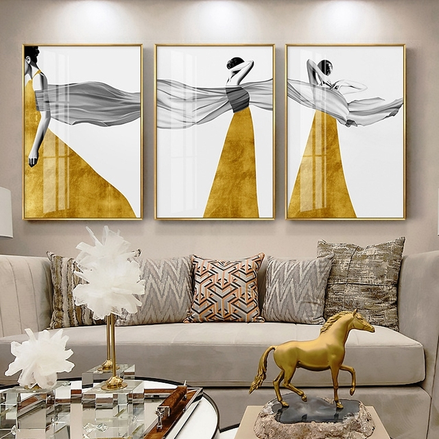 Minimalist Modern Beauty Abstract wall Art Painting Posters and Prints Wall Pictures Mural For Aisle Porch Bedroom Decoration