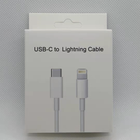 Iphone Factory Price Type C To Lightnning Iphone 18w Fast Charging Cable For IPhone 12 Pro X XS MAX 11 Pro 8
