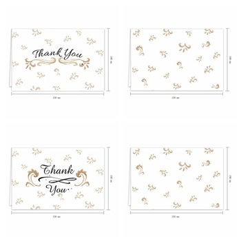 Hanyang Customized Mini Greeting Card Custom Paper Printing Post Cards with envelope