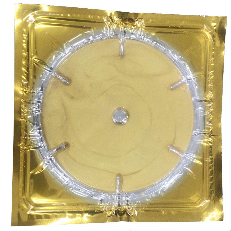 Private Label 24K Golden Collagen Crystal Breast Care Mask Treatment Pack breast mask for skin