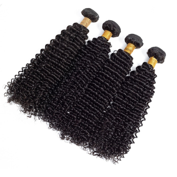 wholesale 4c afro kinky curly human hair weave afro kinky hair extensions 10A Cheap peruvian hair bundles with closure