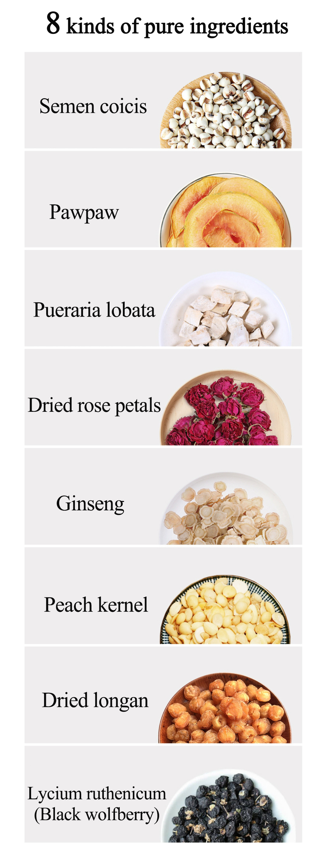 Private Label Wholesale Peach Blossom Petals&Dried Roses Chinese Herbal Tea Warm Stomach And Detox Slimming Tea Bags - 4uTea   4uTea.com