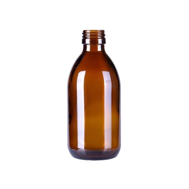30 мл 60 мл 100 мл Янтарный сироп стеклянная бутылка