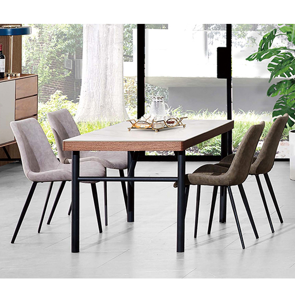 Minimalist Small Oak Wooden Dining Tables And Chairs Set Modern With Steel Base Buy Dining Tables And Chairs Set Modern Wooden Dining Table With Steel Base Oak Dining Table Product On Alibaba Com