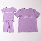 Baby Wholesale T-shirt With Shorts Mommy And Me Outfits Baby Girls' Clothing Set For Summer