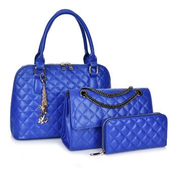 2020 New Fashion customizable 3 in 1 women purses handbags ladies hand bags