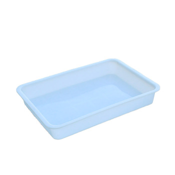 OEM plastic vacuum forming rectangular acrylic large food plastic serving tray