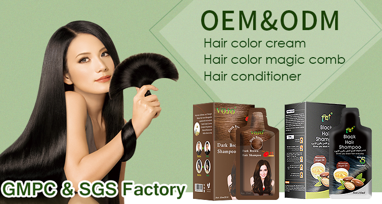 Black magic combs hair dye color comb with foams