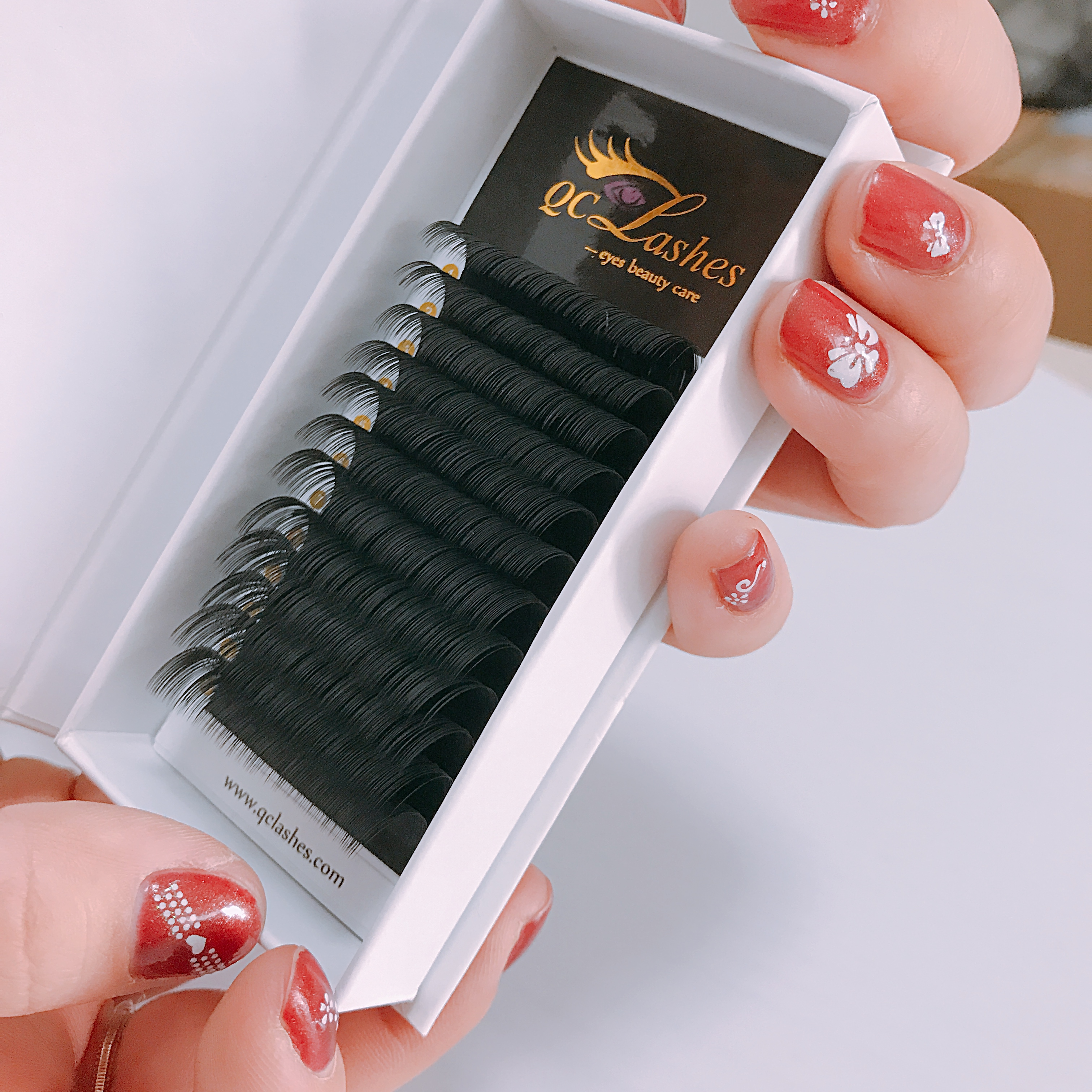 Lash Trays Lashes Extensions Russian Silk Private Label Eyelashes Classic Volume Mink Eyelash Extension
