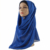 Hijab women flocking shears flower bubble chiffon muslim headscarf