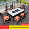 19-4 стула 2 вращающееся кресло 1 керамическая барбекю Настольный 150 см