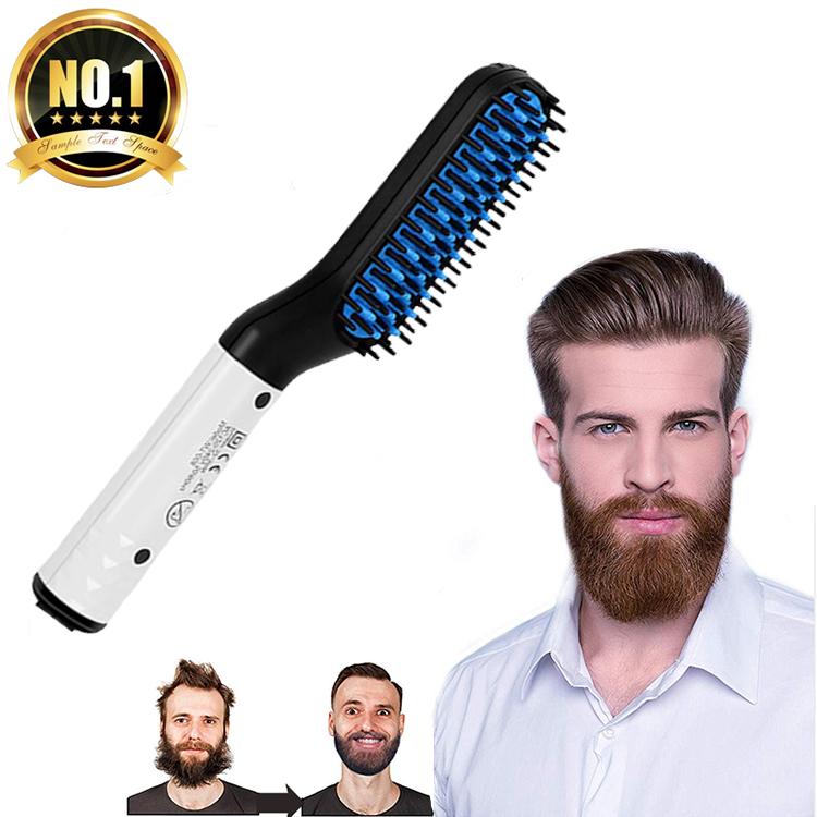 Распродажа, многофункциональная расческа для выпрямления, электрическая плойка, выпрямитель для бороды для мужчин