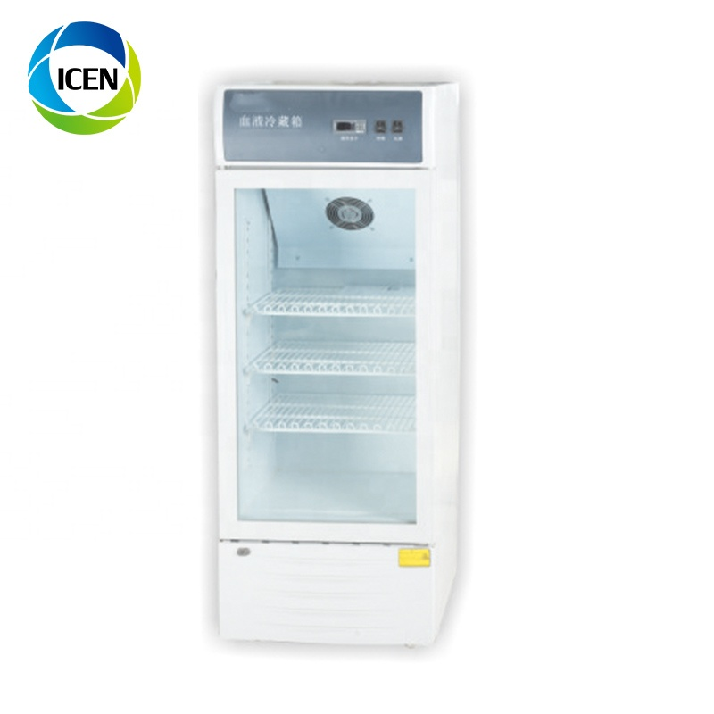 IN-U001 Медицинский мини портативный холодильник на солнечной батарее для хранения крови, холодильник для вакцины