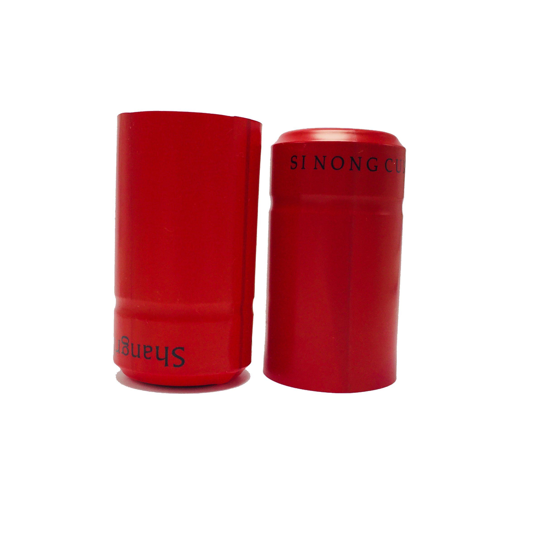 Термоусадочные колпачки для винных бутылок под заказ, тисненый логотип, капсульные рукава из ПВХ/алюминиевой фольги цвета шампанского