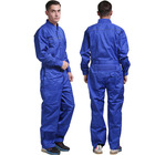 Uniform Uniform Solid Color One-piece Overalls Safety Clothes Outer Work Clothes Work Uniform Outdoor Unisex Uniform