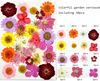 colorful garden 30pcs