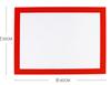 40x30cm-right ángulo blanco rojo amarillo negro blanco/amarillo