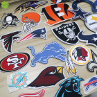 Team Patches. Patches Patch. Patches Embroidered Patch NFL National Football League Team Logo Patches. Custom Patches Embroidered Iron On Patch.