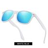 White/ Blue