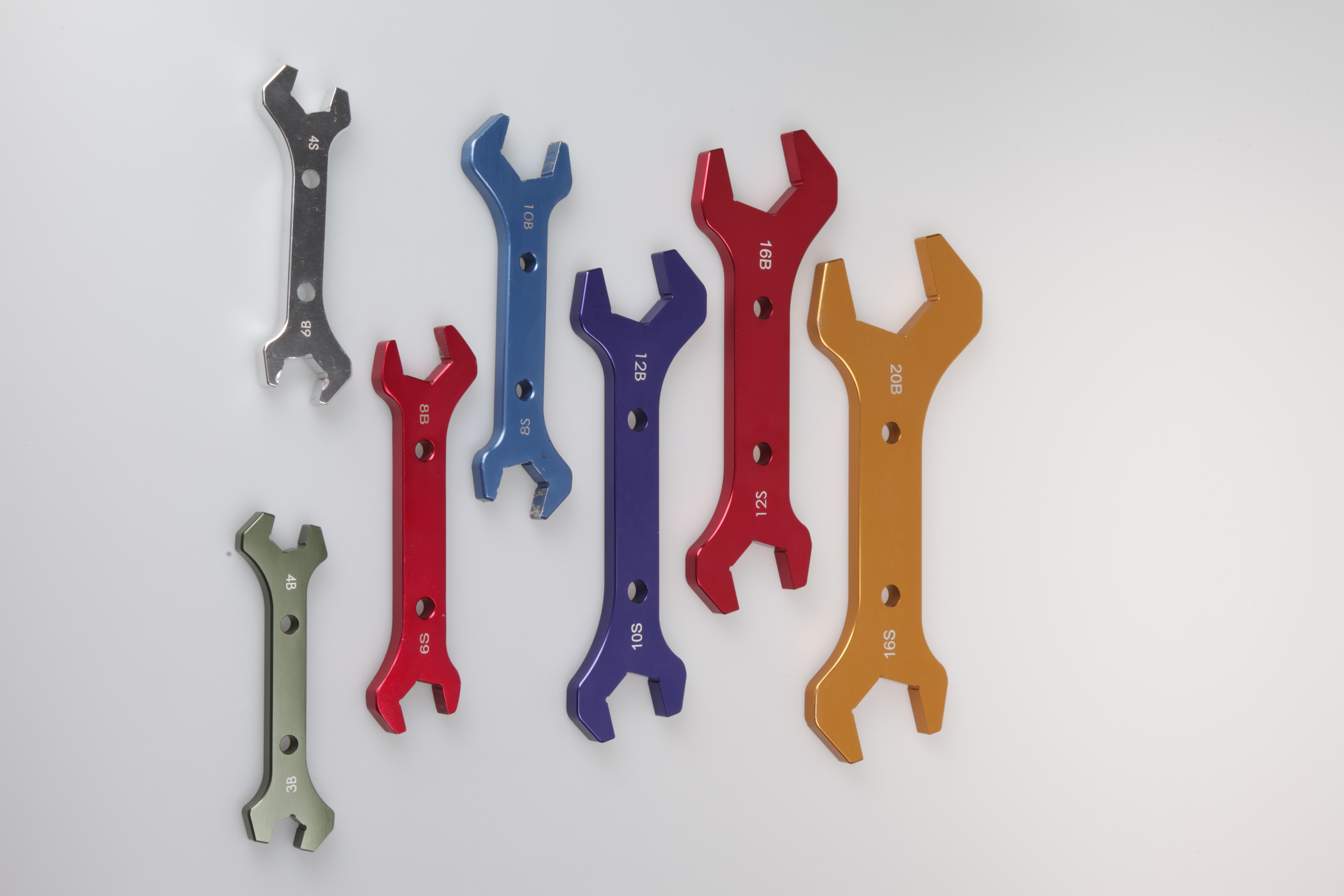 AN3-16 Алюминиевый Регулируемый гаечным ключом ложки с длинной ручкой, гаечный ключ