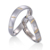 2020 New Style Fashion Custom jewelry Design Stainless Steel Couple Ring wedding band For Man and Women