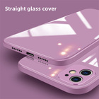Iphone Phone Bluk Tempered Glass Back Covers For IPhone 12 Pro Max TPU PC Phone Case For Huawei
