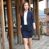 Navy(Shirt+Blazer+Skirt)