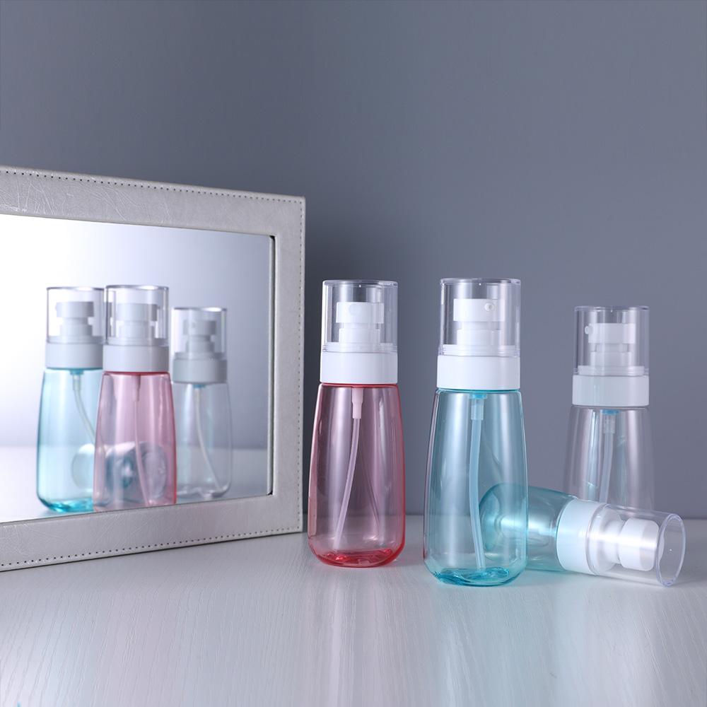 Прозрачный пластмассовый тальк для ухода за кожей ребенка, дезинфицирующий Водоочиститель ПЭТГ/ПЭНД, бутылка-распылитель для дезинфекции жидкости