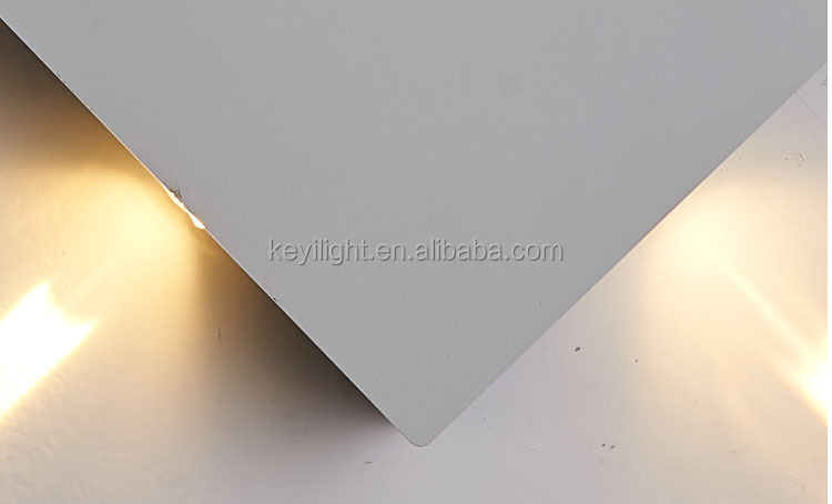 outdoor lighting led wall sconce waterproof four direction ways wall mount light modern lamp fixture