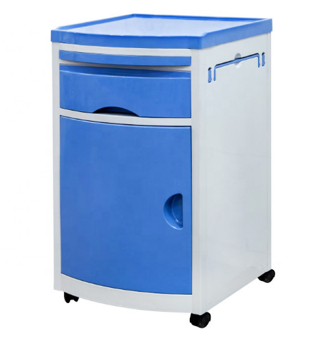 High Quality ABS Plastic Lockers Hospital Small and Large size Bedside Cabinet