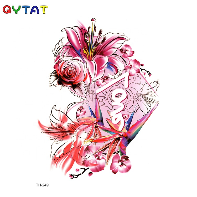 CMYK Printed New Designs Colourful Ink Custom Tatto Stickers