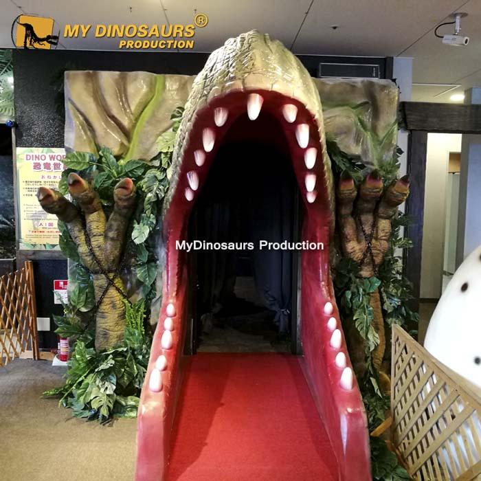 Source My Dino Adventure Park Equipment Fiberglass Dinosaur Head Statue For Sale On M Alibaba Com